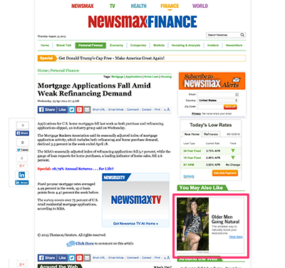 Get Test X on NewsMax
