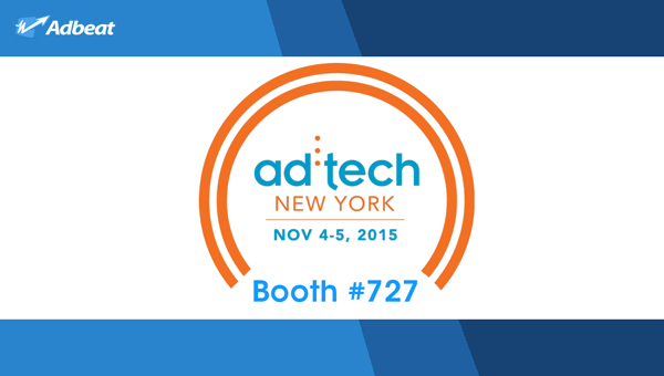 Meet Adbeat @ ad:tech New York!