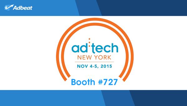 Meet Adbeat @ ad:tech New York!
