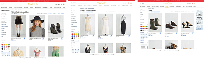 modcloth-landing-pages