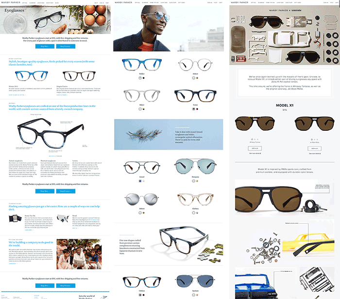 warby-parker-landing-pages