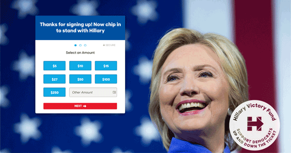 hillary-donation-page