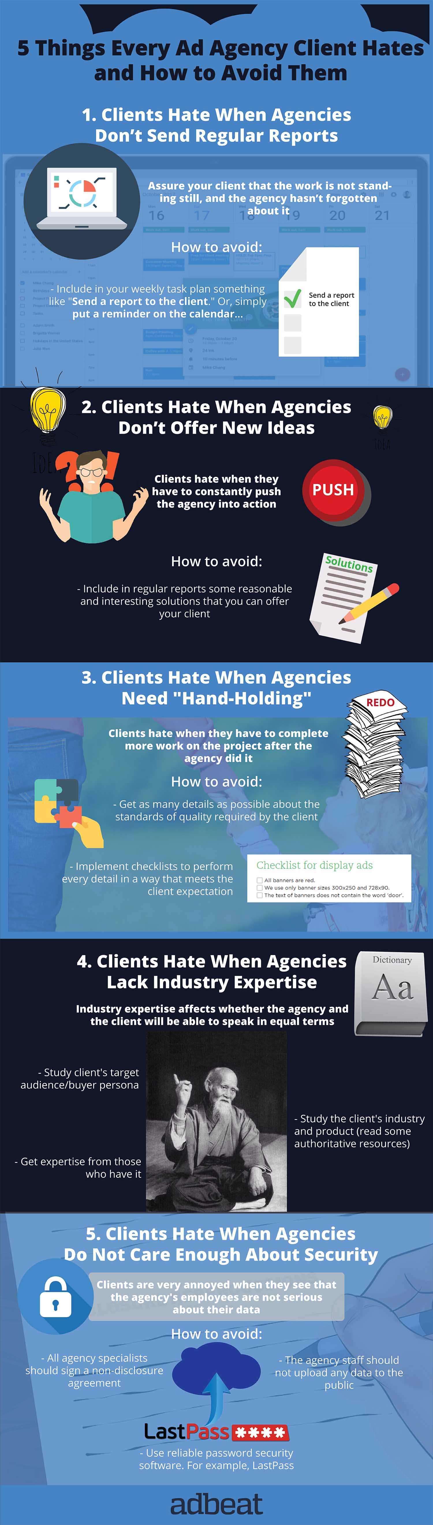 Things That Clients Hate