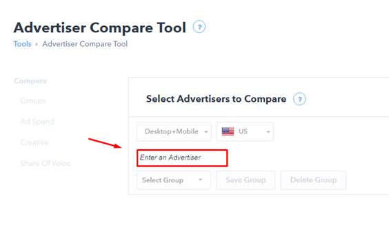 Adbeat compare tool