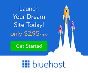 Bluehost Launch your dream ad