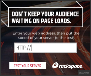 Rackspace Ad image