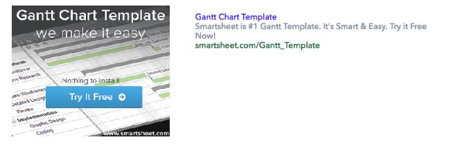 Smartsheet Ad creatives