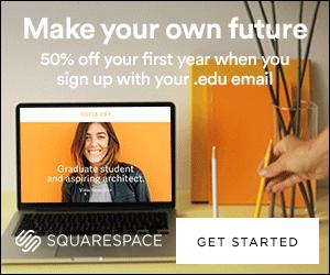 Squarespace image ad